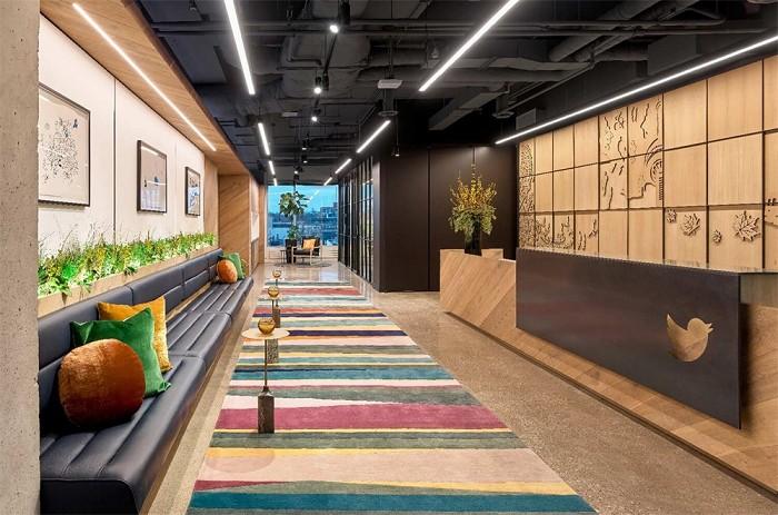 办公室设计空间效果图