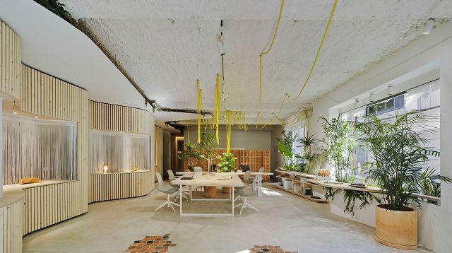 办公室设计是否说明应该原生态?建筑设计保持环保图片