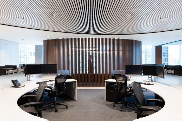 高档典雅成为此办公室装修风格的唯一关键词