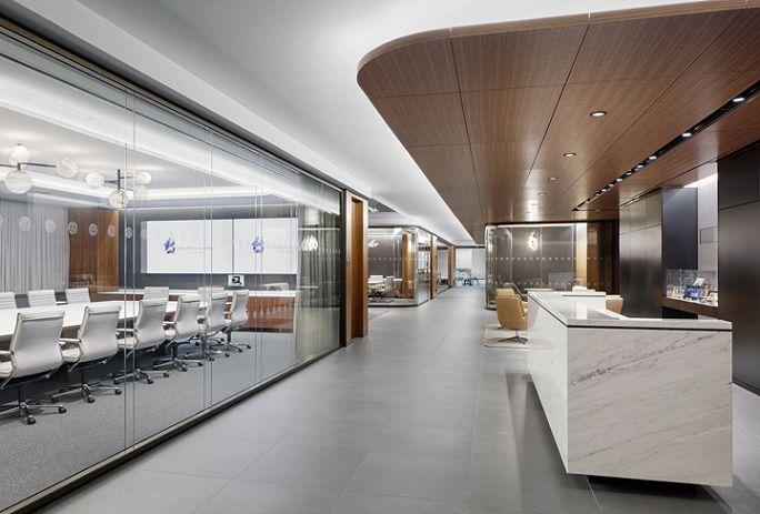 灵感来源于地域特色的办公室装修效果图