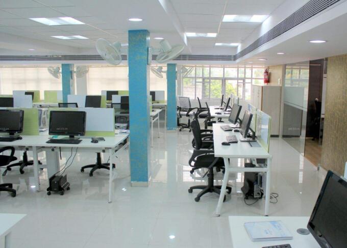 办公室柱子装饰装修效果图