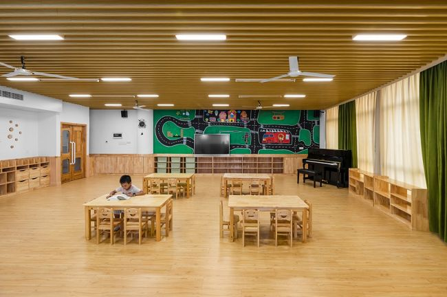 是谁!重新定义了幼儿园装修设计的新概念情趣思路保健品店装修设计图片