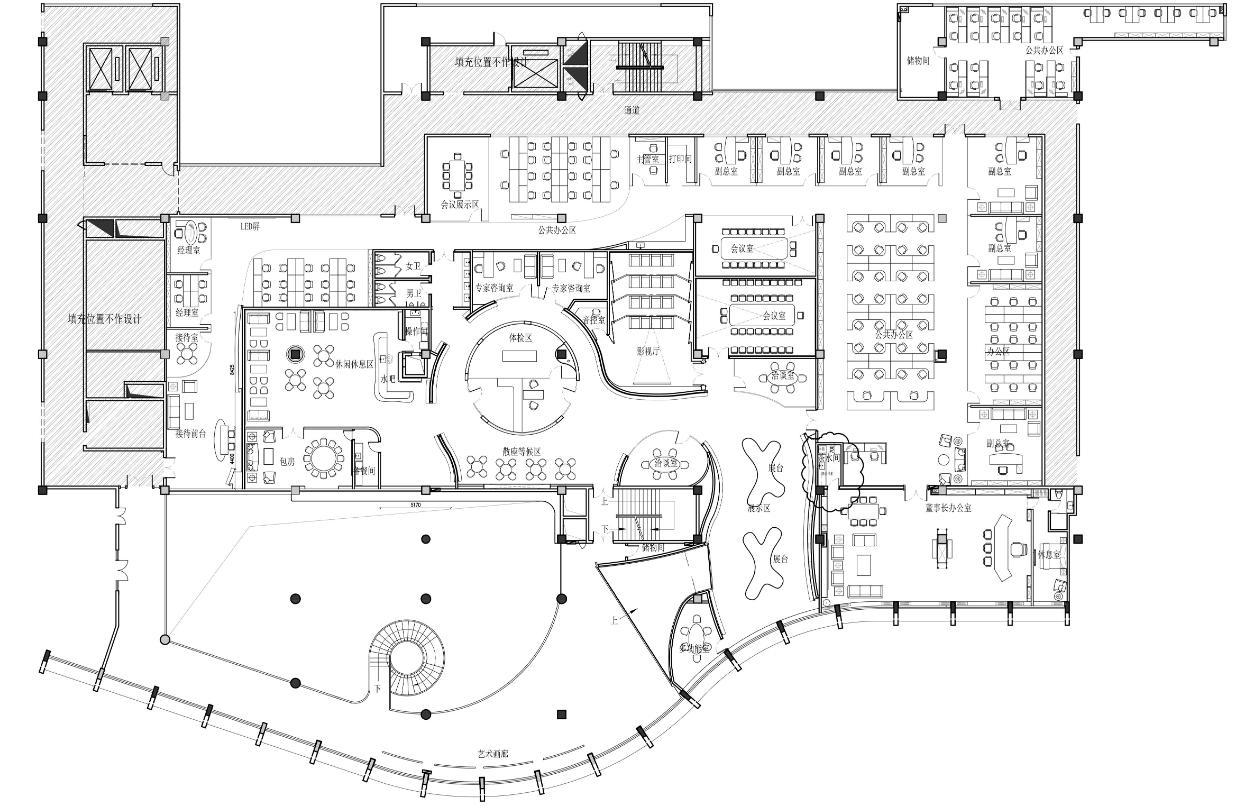 办公室装修方案的设计过程真不是三言两语能说清楚